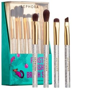 Sephora Collection Frosted Wishes Mini Brush Set